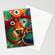 Three Eyed Bear Stationery Cards