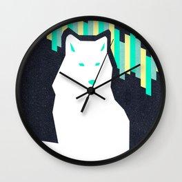 Aurora polaris Wall Clock