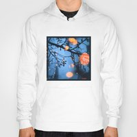 fireflies Hoodies featuring Fireflies by Den Brooks
