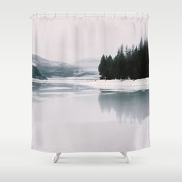 Milk/Ice Part 2 Shower Curtain