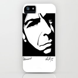 Bird on a wire iPhone Case