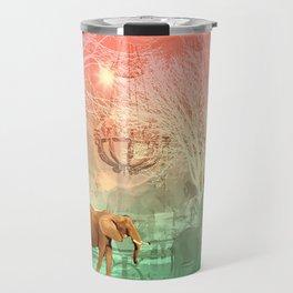 Elephants in the Ballroom Travel Mug