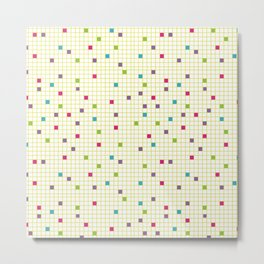 Geometric Defragmentation Metal Print