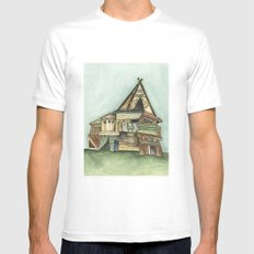 TePee Fort Mens Fitted Tee White MEDIUM