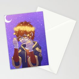 707: Star Crown Stationery Cards