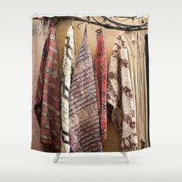 The Fabric of Life Shower Curtain