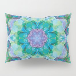 Mandalas of Healing and Awakening 10 Pillow Sham