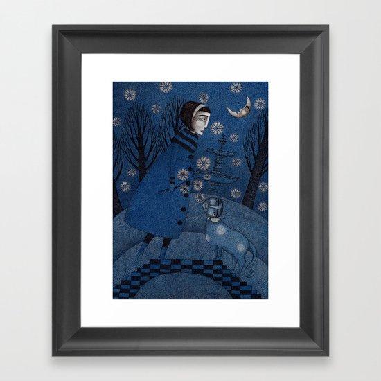 December Park (3) Framed Art Print