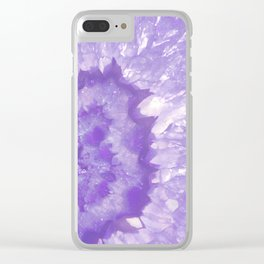 Ultra Violet Crystal Clear iPhone Case