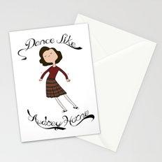 Dance Like Audrey Horne Stationery Cards