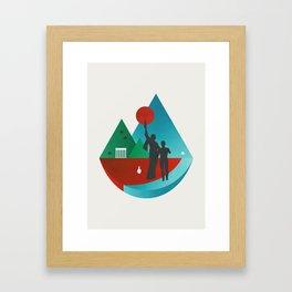 Lebanon Framed Art Print