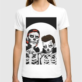 skeleton tyler n josh T-shirt