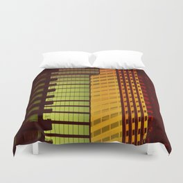 It's all Shapes and Colors - Downtown Los Angeles #68 Duvet Cover