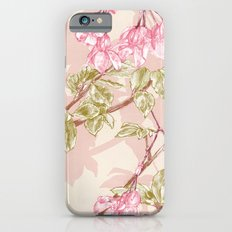 Flower Sketch Slim Case iPhone 6s