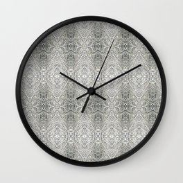 SnowVines Wall Clock