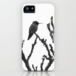 hummer in winter iPhone Case