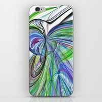 tie dye iPhone & iPod Skins featuring Tie Dye by Shalisa Photography