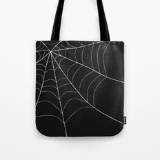 SPIDERWEB SPOOKNESS Tote Bag