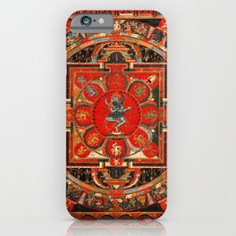 Shri Hevajra Nine Deity Manadala iPhone Case