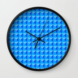 Piramide Azul Wall Clock