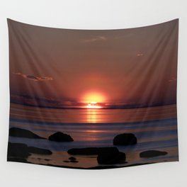 Shock-wave Sunset Wall Tapestry