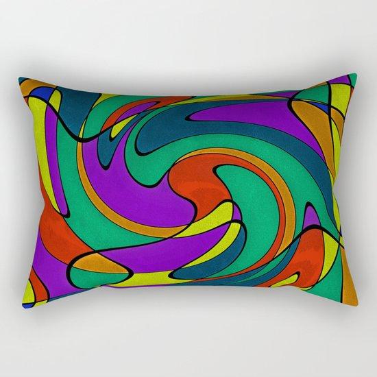 Abstract #433 Rectangular Pillow