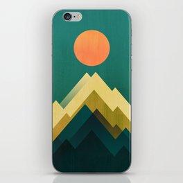 Gold Peak iPhone Skin