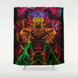 Jerry, The Cyber Fighter Shower Curtain