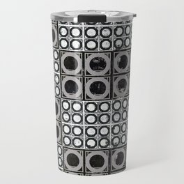 Beyond Zero in black and white Travel Mug
