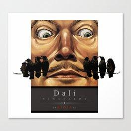 Dali Vineyards Wine Label Canvas Print