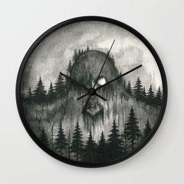 Skogtroll Wall Clock