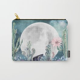 Desert Nights Gemstone Oasis Moon Carry-All Pouch
