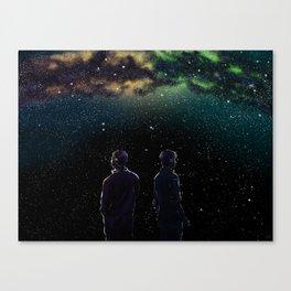 John and Rodney - A Galaxy Away Canvas Print