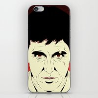 scarface iPhone & iPod Skins featuring Scarface by Renan Lacerda