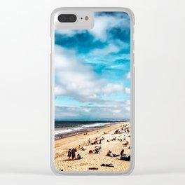 Manhattan Beach Summer Clear iPhone Case