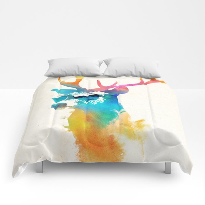 Sunny Stag Comforters
