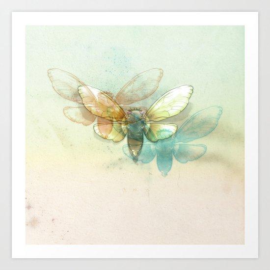 Mr.Summertime (Cicada Skins) Art Print