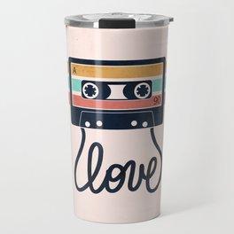 Vintage Love Songs Travel Mug