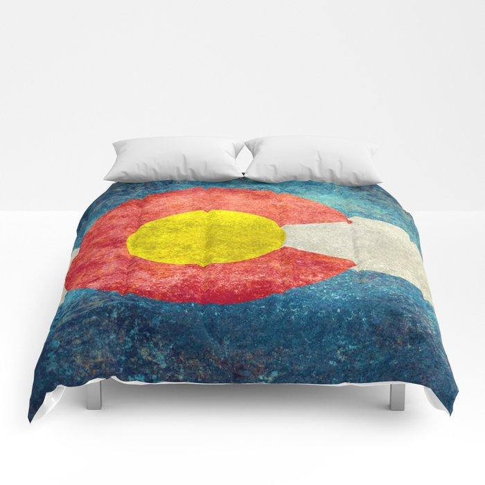 Coloradan State Flag Comforters