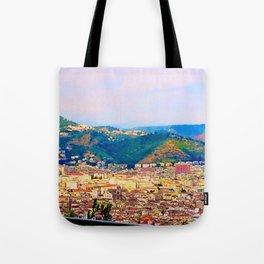 Italian Cityscape Tote Bag