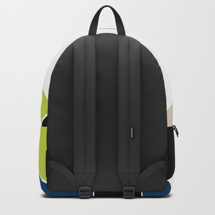 Abstract pattern . Geometric shapes .1 Backpack
