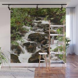 Mountain Creek - Summer Scene #decor #society6 #buyart Wall Mural