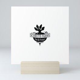 The farm Mini Art Print