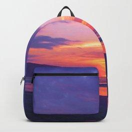Broken sunset by #Bizzartino Backpack