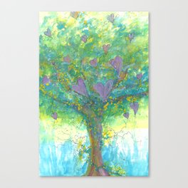 Sad Find Joy Canvas Print