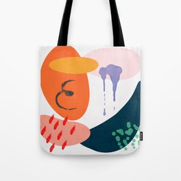 abstract dripping Tote Bag