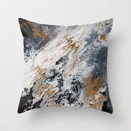 Geode 1 Throw Pillow