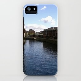Leeds Canal iPhone Case