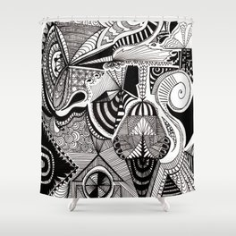 Portable Magic Shower Curtain