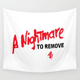 A nightmare to remove Wall Tapestry
